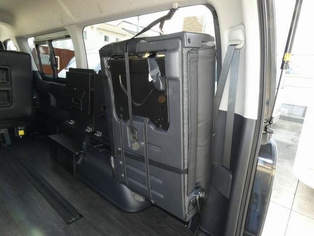 フレックス製 アレンジCT 3ナンバー車中泊仕様 10名乗車 社外ハンドル 社外テールライト ローダウン LEDヘッドライト スマートキー フルフラットサイズ長さ2600mm幅1400mm(16枚目)