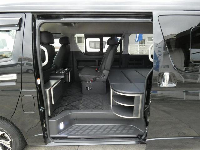 ダイレクトカーズ ラクスモア 3ナンバー車中泊仕様 サブバッテリー 走行充電 外部充電 インバーター FFヒーター ベッドキット1750mm1650mm セーフティセンス オートハイビーム レーンディパーチャーアラート(2枚目)