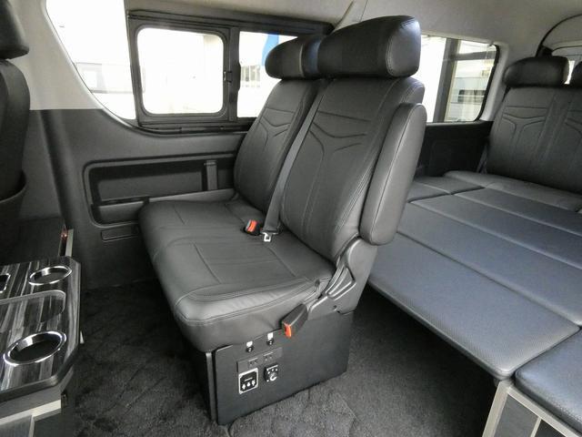 ダイレクトカーズ ラクスモア 3ナンバー車中泊仕様 サブバッテリー 走行充電 外部充電 インバーター FFヒーター ベッドキット1750mm1650mm セーフティセンス オートハイビーム レーンディパーチャーアラート(3枚目)