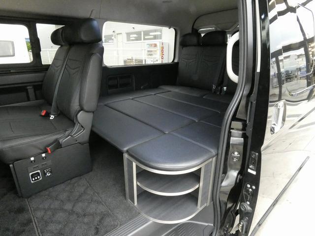 ダイレクトカーズ ラクスモア 3ナンバー車中泊仕様 サブバッテリー 走行充電 外部充電 インバーター FFヒーター ベッドキット1750mm1650mm セーフティセンス オートハイビーム レーンディパーチャーアラート(8枚目)