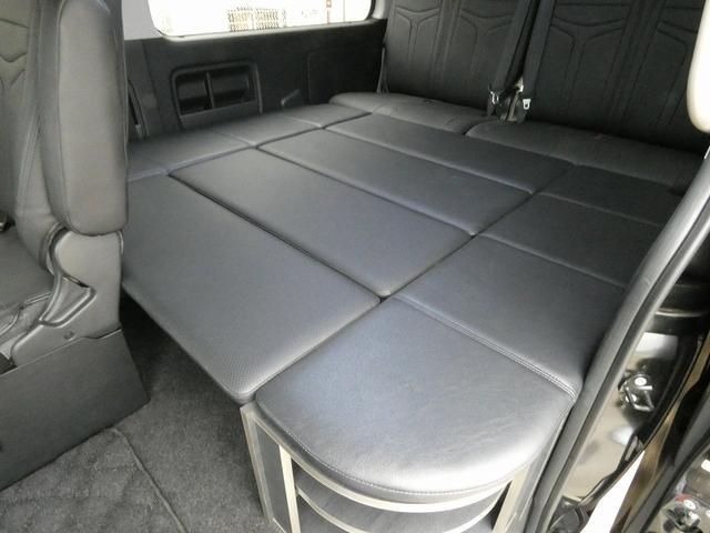 ダイレクトカーズ ラクスモア 3ナンバー車中泊仕様 サブバッテリー 走行充電 外部充電 インバーター FFヒーター ベッドキット1750mm1650mm セーフティセンス オートハイビーム レーンディパーチャーアラート(13枚目)