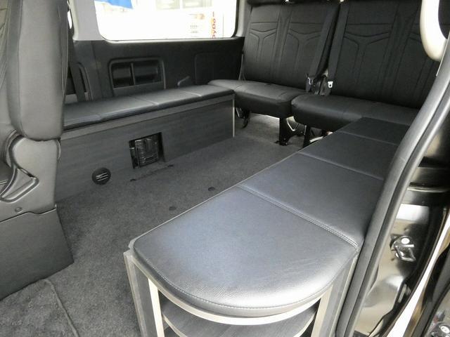 ダイレクトカーズ ラクスモア 3ナンバー車中泊仕様 サブバッテリー 走行充電 外部充電 インバーター FFヒーター ベッドキット1750mm1650mm セーフティセンス オートハイビーム レーンディパーチャーアラート(14枚目)
