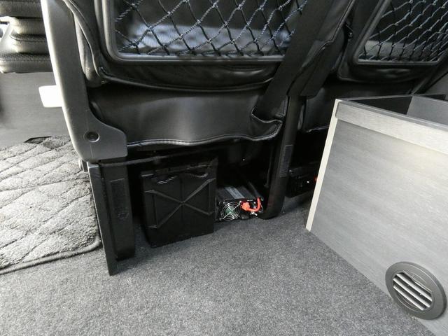 ダイレクトカーズ ラクスモア 3ナンバー車中泊仕様 サブバッテリー 走行充電 外部充電 インバーター FFヒーター ベッドキット1750mm1650mm セーフティセンス オートハイビーム レーンディパーチャーアラート(19枚目)