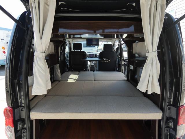 アネックス リコルソSS 4ナンバーキャンピング仕様 車中泊 サブバッテリー 走行充電 インバーター フリップダウンモニター 外部電源 ナビ ETC インテリジェントキー(2枚目)