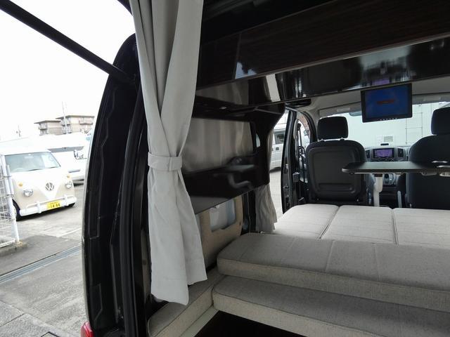 アネックス リコルソSS 4ナンバーキャンピング仕様 車中泊 サブバッテリー 走行充電 インバーター フリップダウンモニター 外部電源 ナビ ETC インテリジェントキー(3枚目)