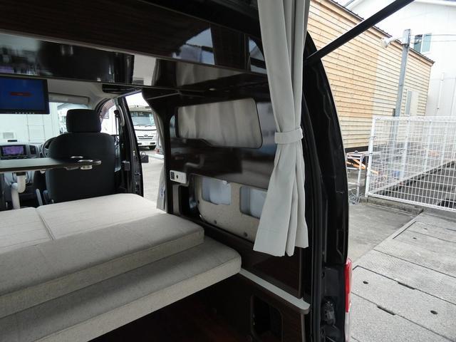アネックス リコルソSS 4ナンバーキャンピング仕様 車中泊 サブバッテリー 走行充電 インバーター フリップダウンモニター 外部電源 ナビ ETC インテリジェントキー(4枚目)