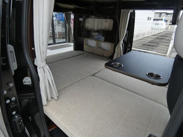 アネックス リコルソSS 4ナンバーキャンピング仕様 車中泊 サブバッテリー 走行充電 インバーター フリップダウンモニター 外部電源 ナビ ETC インテリジェントキー(5枚目)