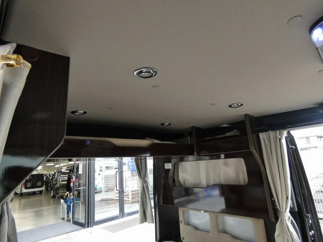 アネックス リコルソSS 4ナンバーキャンピング仕様 車中泊 サブバッテリー 走行充電 インバーター フリップダウンモニター 外部電源 ナビ ETC インテリジェントキー(6枚目)