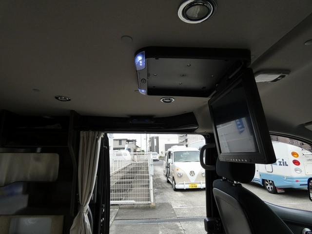 アネックス リコルソSS 4ナンバーキャンピング仕様 車中泊 サブバッテリー 走行充電 インバーター フリップダウンモニター 外部電源 ナビ ETC インテリジェントキー(7枚目)