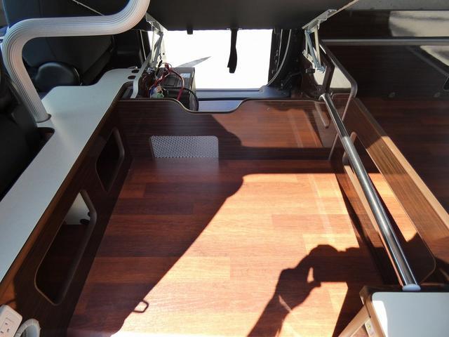 アネックス リコルソSS 4ナンバーキャンピング仕様 車中泊 サブバッテリー 走行充電 インバーター フリップダウンモニター 外部電源 ナビ ETC インテリジェントキー(10枚目)