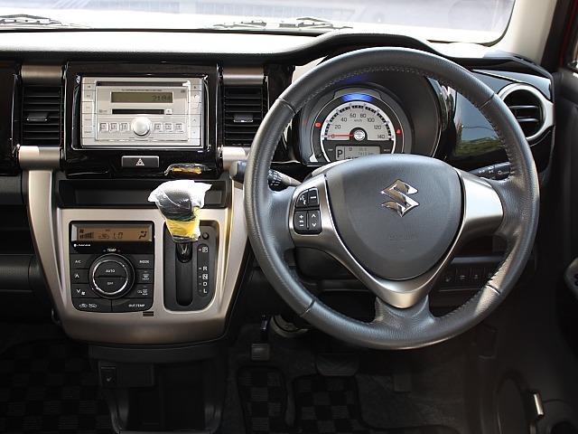 JスタイルII 保証付 新品バッテリー 電格収納ミラー LEDフォグランプ Wカメラブレーキ アイドリングストップ オートライト デュアルカメラブレーキサポート シートヒーター スマートキー CD ワンオーナー(8枚目)