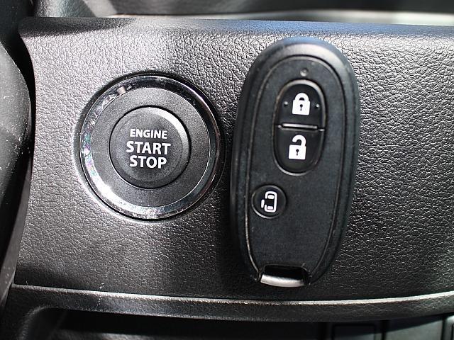 Gリミテッド 保証付 新品バッテリー パワステ パワーウィンドウ ステアリングスイッチ CD ブレーキアシスト スマートキー プッシュスタート パワースライドドア アイドリングストップ エネチャージ(16枚目)
