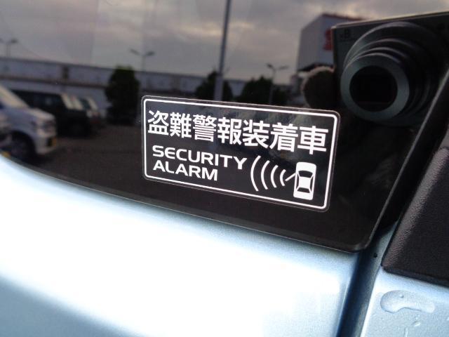 セキュリティシステム装備です。