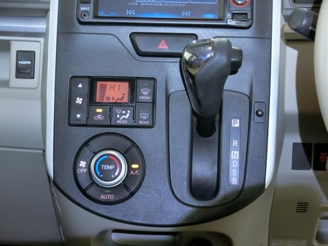 X SA 衝突被害軽減ブレーキ 横滑り防止装置 アイドリングストップ 左側電動スライドドア ステアリングスイッチ オートライト ナビ バックカメラ バイザー マット 純正ホイールキャップ キーフリーシステム(8枚目)