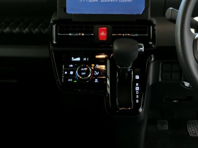 カスタムX 衝突被害軽減ブレーキ 横滑り防止装置 オートマチックハイビーム アイドリングストップ 両側電動スライドドア キーフリーシステム オートエアコン オートライト ベンチシート 純正アルミホイール LED(7枚目)