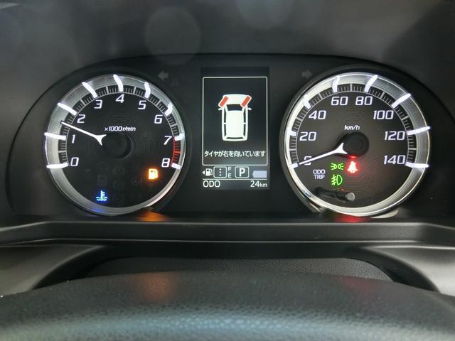 カスタム RS ハイパーリミテッドSAIII 衝突被害軽減ブレーキ 横滑り防止装置 オートマチックハイビーム アイドリングストップ ステアリングスイッチ 革巻きハンドル オートライト ベンチシート シートヒーター キーフリーシステム LED(5枚目)