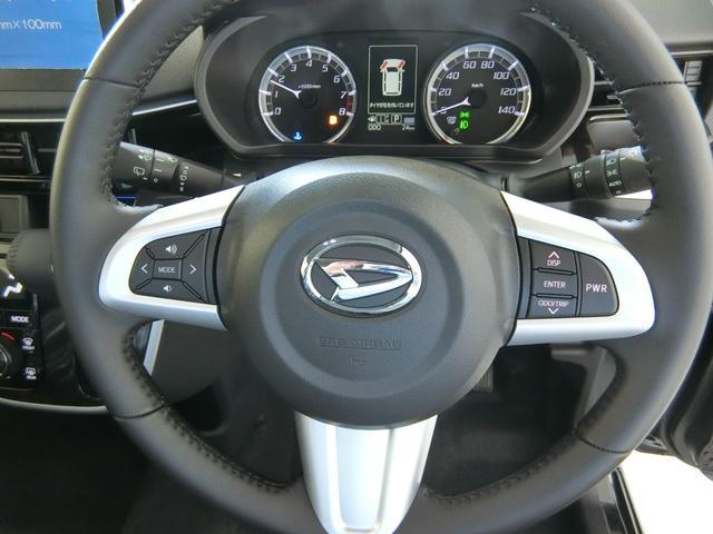 カスタム RS ハイパーリミテッドSAIII 衝突被害軽減ブレーキ 横滑り防止装置 オートマチックハイビーム アイドリングストップ ステアリングスイッチ 革巻きハンドル オートライト ベンチシート シートヒーター キーフリーシステム LED(10枚目)