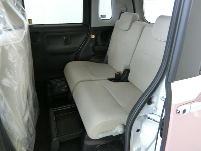 Xメイクアップリミテッド SAIII 衝突被害軽減ブレーキ 横滑り防止装置 オートマチックハイビーム アイドリングストップ 両側電動スライドドア ステアリングスイッチ オートライト キーフリーシステム オートエアコン ベンチシート(13枚目)