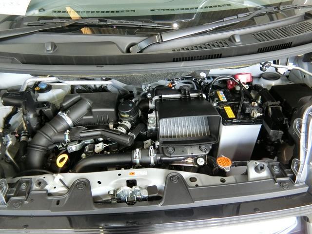 カスタムRS 衝突被害軽減ブレーキ 横滑り防止装置 オートマチックハイビーム アイドリングストップ ステアリングスイッチ 革巻きハンドル オートライト 両側電動スライドドア キーフリーシステム オートエアコン(18枚目)