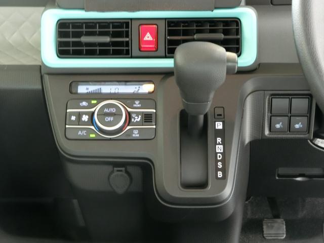 Xセレクション 衝突被害軽減ブレーキ 横滑り防止装置 オートマチックハイビーム アイドリングストップ 両側電動スライドドア ステアリングスイッチ キーフリーシステム オートエアコン バックカメラ 純正ホイールキャップ(7枚目)