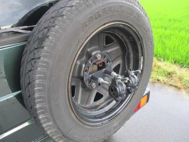 XL 社外オーディオ ETC 背面タイヤ 4WD(20枚目)