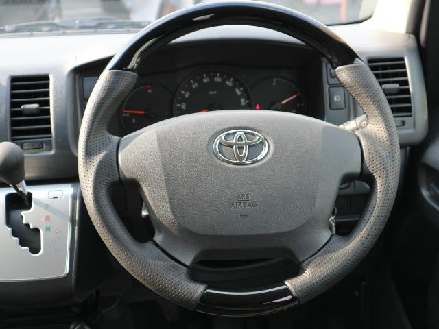 トヨタ ハイエースバン DX GLパッケージ SDナビ フルセグTV 後席モニター