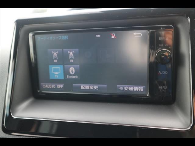 純正SDナビゲーション搭載。フルセグ、DVD再生、Bluetooth搭載♪