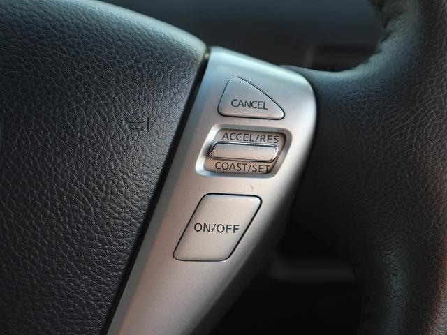 クルーズコントロール搭載。長距離ドライブの疲労軽減に活躍してくれます。