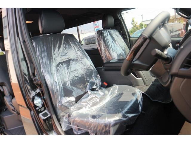 スーパーGL ダークプライムII 新車未登録 デジタルインナーミラー 両側電動ドア AC100V ハーフレザー レーンキープ 助手席エアバック スマートキー LEDヘッドライト プッシュスタート(5枚目)
