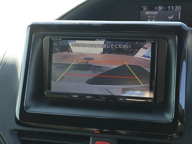 Si ダブルバイビー 7型ナビ バックカメラ ETC フルセグ 両側電動ドア ハーフレザー 7人乗り スマートキー トヨタセーフティセンス プッシュスタート USBポート クルーズコントロール 純正アルミ(4枚目)