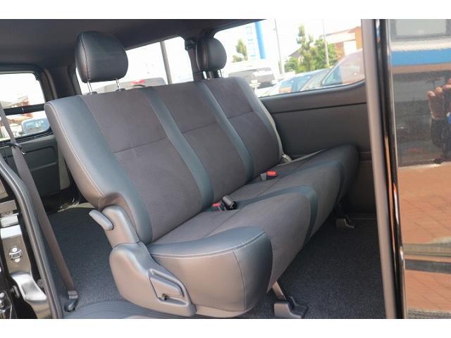 スーパーGL ダークプライムII 新車未登録 デジタルインナーミラー 両側電動ドア AC100V ハーフレザー レーンキープ 助手席エアバック スマートキー LEDヘッドライト プッシュスタート(6枚目)