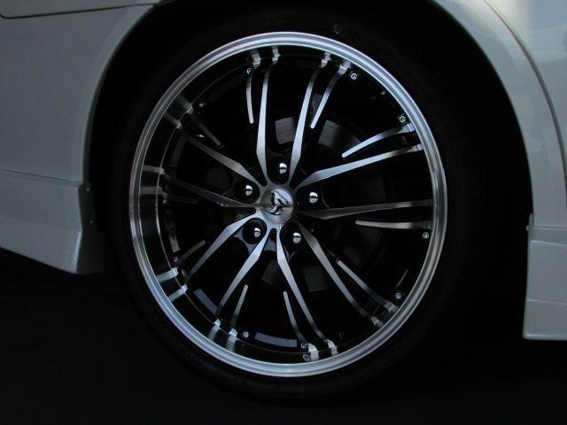 AS200 Zエディション BEASTスタイリング 新品Technopiaカシーナ19inchアルミホイール 新品タイヤ 新品フルエアロ 新品プロジェクターヘッドライト 新品LEDウィンカーポジションキット 新品ルーフアンテナ(9枚目)