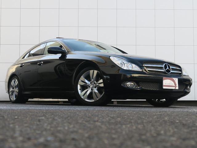 メルセデス・ベンツ M・ベンツ CLS550 サンルーフ 純正HDDナビ 黒革 パワーシート
