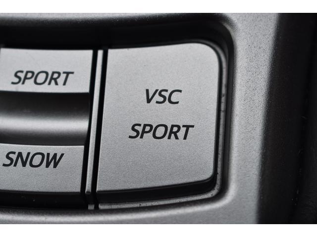 スポーツ走行用のVSC[VDC]スイッチ