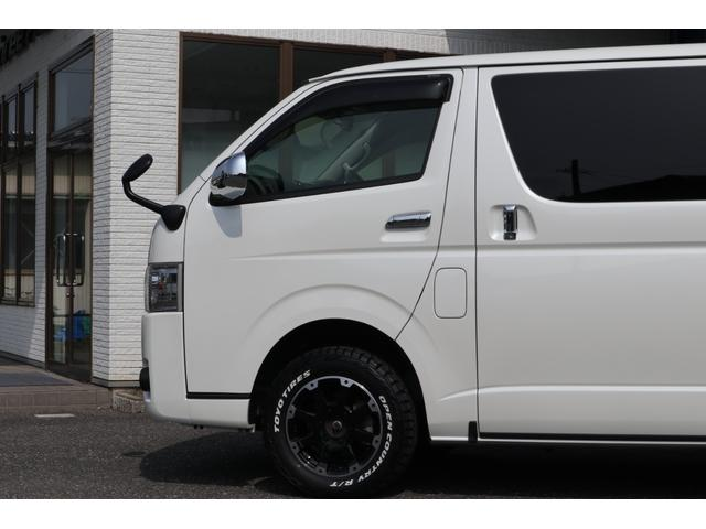 スーパーGL ダークプライム ディーゼル 4WD ワンオーナー 禁煙車 プッシュスタート スマートキー 両側パワースライドドア LEDヘッドライト トヨタセーフティセンス LEDフォグ コンフォートリーフ 寒冷地仕様 防音 熱対策(30枚目)