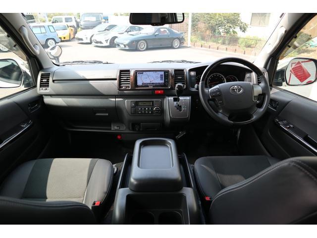 スーパーGL ダークプライム ディーゼル 4WD ワンオーナー 禁煙車 プッシュスタート スマートキー 両側パワースライドドア LEDヘッドライト トヨタセーフティセンス LEDフォグ コンフォートリーフ 寒冷地仕様 防音 熱対策(33枚目)