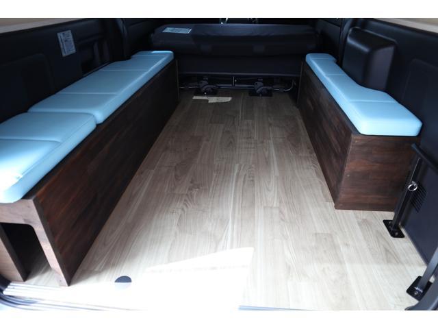スーパーGL ダークプライム ディーゼル 4WD ワンオーナー 禁煙車 プッシュスタート スマートキー 両側パワースライドドア LEDヘッドライト トヨタセーフティセンス LEDフォグ コンフォートリーフ 寒冷地仕様 防音 熱対策(46枚目)