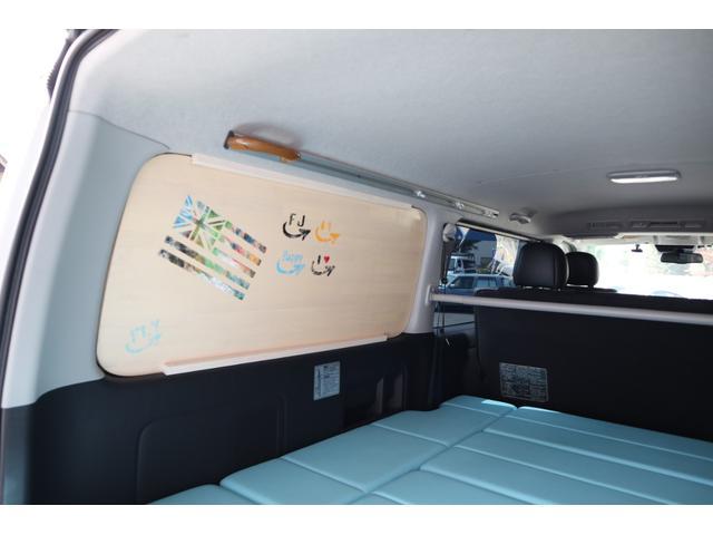 スーパーGL ダークプライム ディーゼル 4WD ワンオーナー 禁煙車 プッシュスタート スマートキー 両側パワースライドドア LEDヘッドライト トヨタセーフティセンス LEDフォグ コンフォートリーフ 寒冷地仕様 防音 熱対策(49枚目)