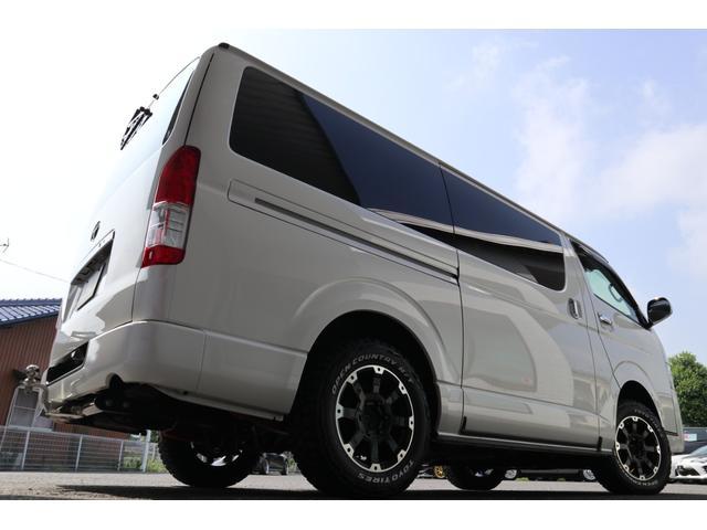 スーパーGL ダークプライム ディーゼル 4WD ワンオーナー 禁煙車 プッシュスタート スマートキー 両側パワースライドドア LEDヘッドライト トヨタセーフティセンス LEDフォグ コンフォートリーフ 寒冷地仕様 防音 熱対策(68枚目)