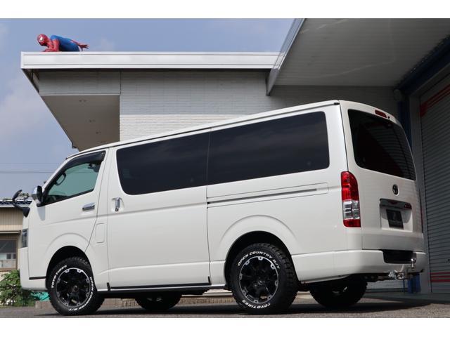 スーパーGL ダークプライム ディーゼル 4WD ワンオーナー 禁煙車 プッシュスタート スマートキー 両側パワースライドドア LEDヘッドライト トヨタセーフティセンス LEDフォグ コンフォートリーフ 寒冷地仕様 防音 熱対策(70枚目)