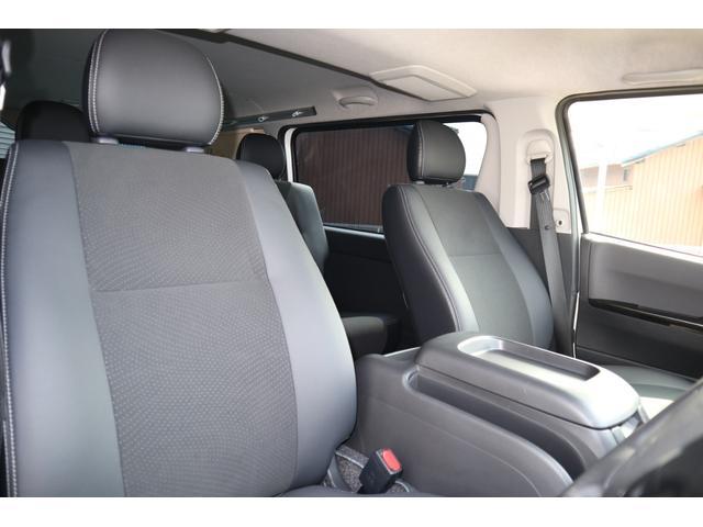 スーパーGL ダークプライム ディーゼル 4WD ワンオーナー 禁煙車 プッシュスタート スマートキー 両側パワースライドドア LEDヘッドライト トヨタセーフティセンス LEDフォグ コンフォートリーフ 寒冷地仕様 防音 熱対策(72枚目)