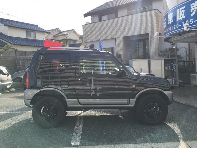 ランドベンチャー 禁煙車 4WD オフロードタイヤ ターボ ETC ナビ DVD シートヒーター  ハーフレザーシート 純正16インチAW(9枚目)