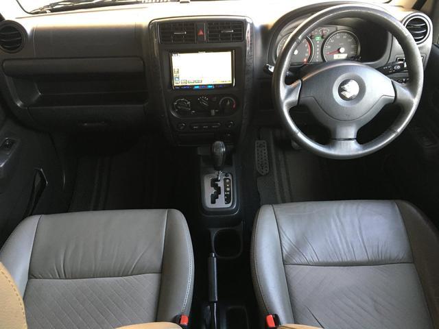 ランドベンチャー 禁煙車 4WD オフロードタイヤ ターボ ETC ナビ DVD シートヒーター  ハーフレザーシート 純正16インチAW(17枚目)