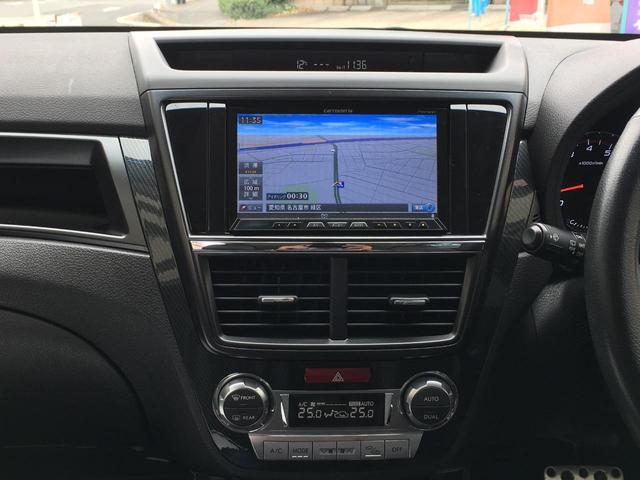 2.5iスペックB アイサイト 禁煙車 4WD STIリップスポイラー SDナビ TV BTオーディオ DVD再生 Bカメラ ETC パワーシート クルーズコントロール Aストップ HID プッシュスタート 18インチアルミ(32枚目)