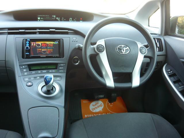 トヨタ プリウス S 社外SDナビ 地デジ プッシュスマート ETC 保証付