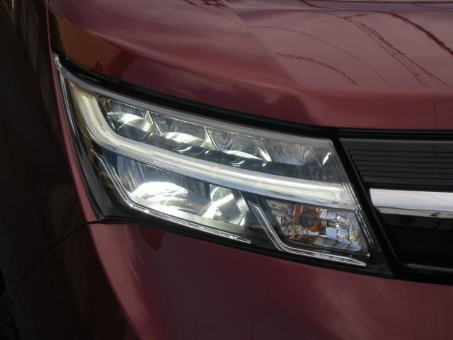 カスタムG ワンオーナー 禁煙車 ナビ/地デジ/ETC2.0 両側パワースライドドア スマートキー/プッシュスタート LEDヘッドライト デイライト 被害軽減システム メーカー保証付 アイドリングストップ(10枚目)