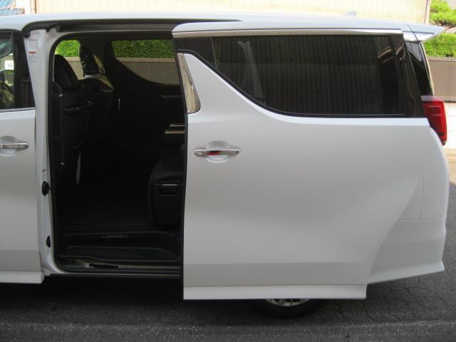 SR Cパッケージ 登録済未使用車 商品改良モデル 4WD 両側パワースライドドア ダブルサンルーフ付 電動革シート オットマン付 7人乗り/キャプテンシートディスプレイオーディオ バックカメラ 被害軽減システム(20枚目)