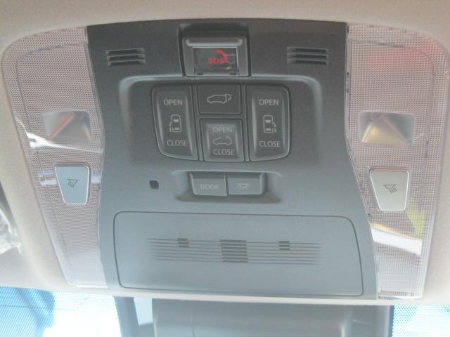 SR Cパッケージ 登録済未使用車 商品改良モデル 4WD 両側パワースライドドア ダブルサンルーフ付 電動革シート オットマン付 7人乗り/キャプテンシートディスプレイオーディオ バックカメラ 被害軽減システム(44枚目)
