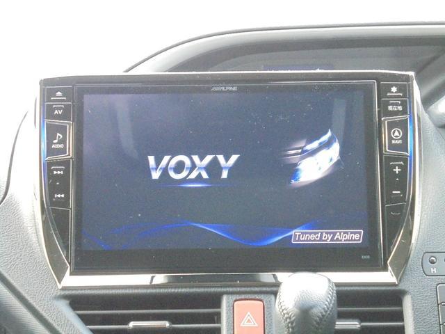 トヨタ ヴォクシー ZS 煌 10インチフルセグSDナビ リアモニター エアロ