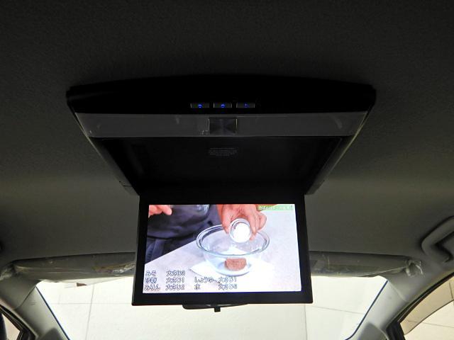 フリップダウンモニター付きで後部座席の方も楽しくロングドライブが可能!